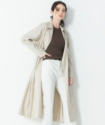 NIJYUSANKU/Vintege Soft Twill ラップコート/502917801