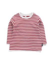 apres les cours/先染めボーダーTシャツ/502793892