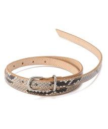 GARDEN/Hender Scheme/エンダースキーマ/python tail belt/パイソンテールベルト/502920242