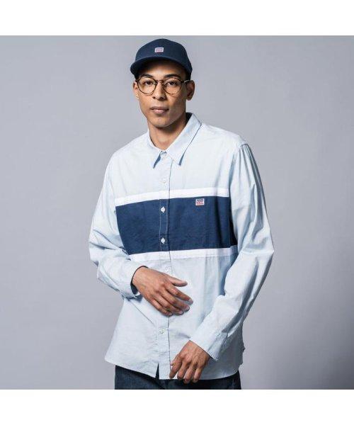 Levi's(リーバイス)/カラーブロックシャツ PACIFIC NO PKT SKYWAY/798220000
