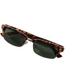 LUXSTYLE/ブロー型フレームサングラス/サングラス メンズ レディース グラサン ブローサングラス/502920712