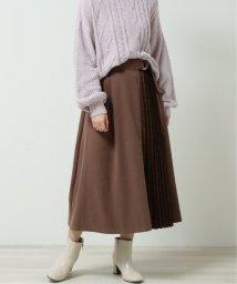 framesRayCassin/起毛×チェック切替プリーツスカート/502921338