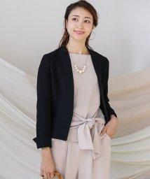 Bou Jeloud/入学式・卒業式に◆【WEB限定】ニットツイードカラーレスジャケット/502922859