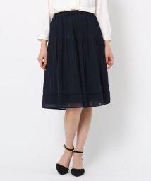 Couture Brooch/【WEB限定サイズ(LL)あり】プリーツジョーゼットスカート/502923315