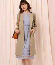 Couture Brooch/◆【WEB限定サイズ(LL)あり】ベルト付きトレンチコート/502923319