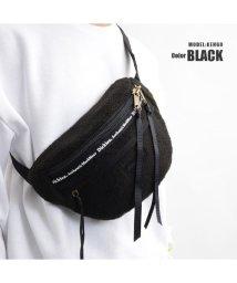 1111clothing/Dickies ディッキーズ ボディバッグ ショルダーバッグ ボア ペアルック カップル 韓国ファッション 男女兼用 メンズ レディース 黒/ブラウン/ホワイト/502924698