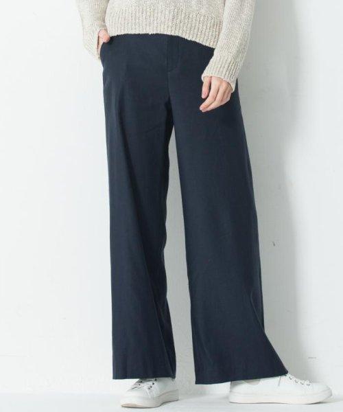 NIJYUSANKU(SMALL SIZE)(23区(小さいサイズ))/【洗える】Vintege Soft Twill ワイドパンツ/PRWSBS0101
