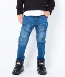 RAD CUSTOM/ポケット ロゴ ストレッチ リブ デニム パンツ(90cm~160cm)/502816206