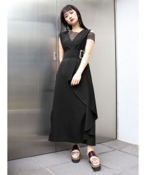 MURUA/デザインラッフルジャンパースカート/502886526