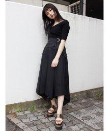 MURUA/【WEB限定】カバーベルトチノフレアスカート/502886547