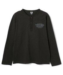 Schott/【直営店限定】CLASSIC HENRY NECK T-SHIRT/クラシック ヘンリーネックTシャツ/502925230