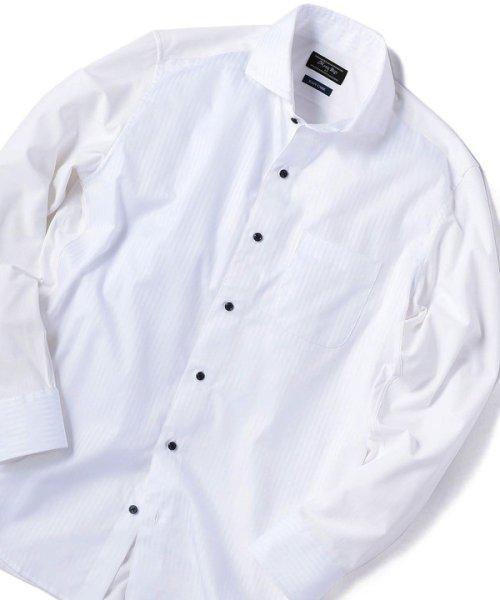Men's Bigi(メンズビギ)/【ストレッチ/ウォッシャブル】カッタウェイビジネスシャツ/M0101FBD03