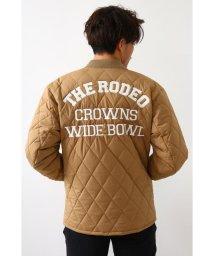 RODEO CROWNS WIDE BOWL/キルティングロゴブルゾン/502925478