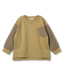 branshes/袖切替え長袖Tシャツ(80~150cm)/502927283