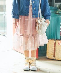 branshes/ロゴ刺繍チュールスカート(S~XL)/502927289