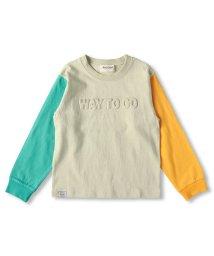 RADCHAP/クレイジー配色長袖Tシャツ(90~150cm)/502927299