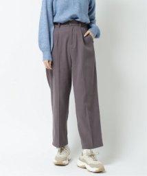 Ray Cassin /起毛ワンタックカラーパンツ/502927462