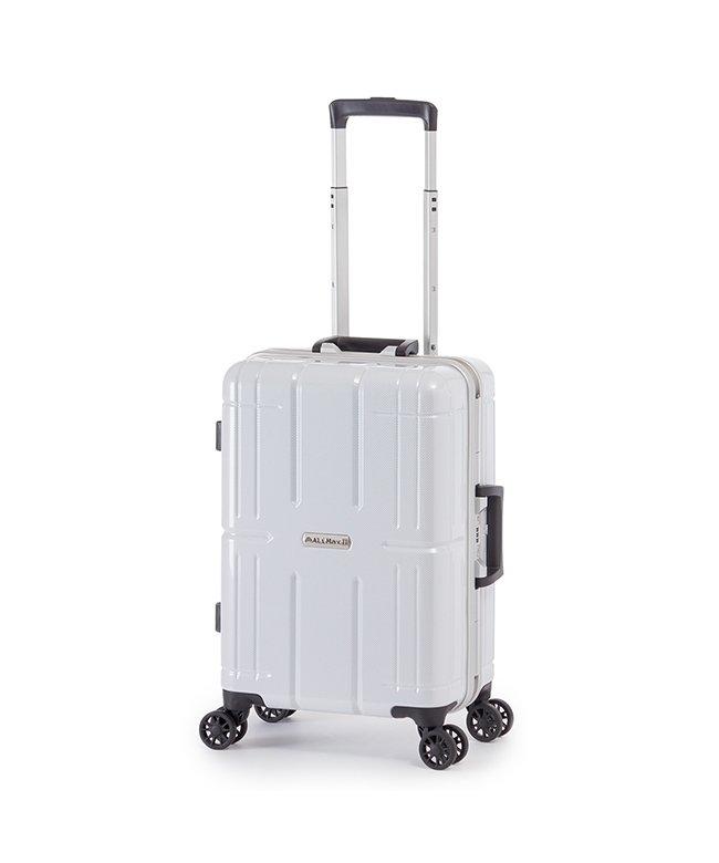 カバンのセレクション アジアラゲージ アリマックス2 スーツケース 機内持ち込み Sサイズ 35L フレーム ALI 011R 18 ユニセックス ホワイト フリー 【Bag & Luggage SELECTION】