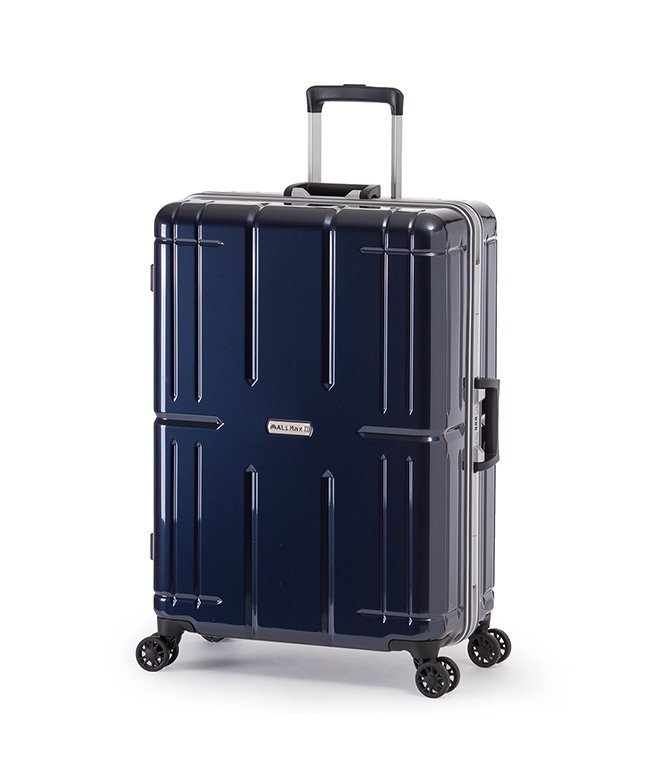 カバンのセレクション アジアラゲージ アリマックス2 スーツケース Lサイズ 80L フレーム 大容量 011r−26 ユニセックス ネイビー フリー 【Bag & Luggage SELECTION】