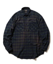 BEAMS MEN/SUGAR CANE × BEAMS / 別注 ネルチェック ワークシャツ/502929034