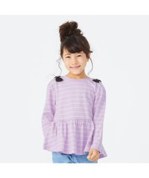 apres les cours/ぺプラムボーダーTシャツ/502793895