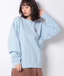 X-girl/BUNNY EMBROIDERY CREW SWEAT TOP/502834993