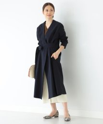 Demi-Luxe BEAMS/Demi-Luxe BEAMS / ベルト付き ノーカラーコート/502861668