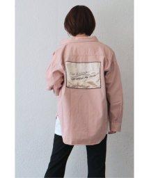 VENCE EXCHANGE/バックサテンパッチシャツ/502897482