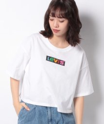 LEVI'S LADY/GRAPHIC OVERSIZE TEE RAINBOW BOX TAB WHI/502913421