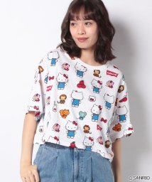 LEVI'S LADY/GRAPHIC OVERSIZE TEE HELLO KITTY WHITE P/502913422