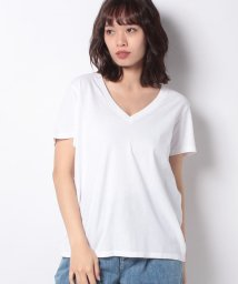 LEVI'S LADY/DAD VNECK WHITE +/502913427
