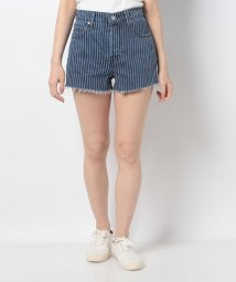LEVI'S LADY/RIBCAGE SHORT STRANGER THINGS PINSTRIPE/502913435