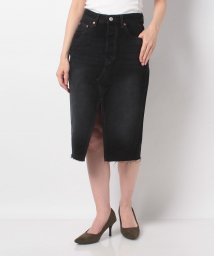 LEVI'S LADY/DECONSTRUCTED MIDI SKIRT BLACK MARK SKI/502913437