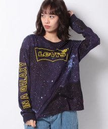 LEVI'S LADY/GRAPHIC OVERSIZE LS TEE WOMENS_T2_LS_BW/502913454