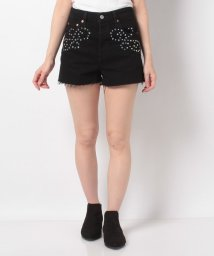 LEVI'S LADY/RIBCAGE SHORT BORDER TOWN SHORT/502913456