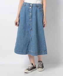 LEVI'S LADY/BUTTON CIRCLE SKIRT FRONT PAGE WORTHY/502913457