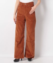 LEVI'S LADY/RIBCAGE WIDE LEG CARAMEL CAFE PLUSH COR/502913464