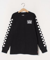 LEVI'S LADY/【KIDS】LS CHECKERED TEE CAVIAR/502913533