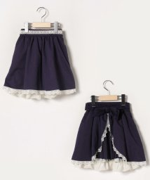 axes femme kids/バックリボン2wayスカート/502913716