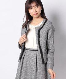 axes femme/【セットアップ対応商品】フェミニンツイードジャケット/502913722