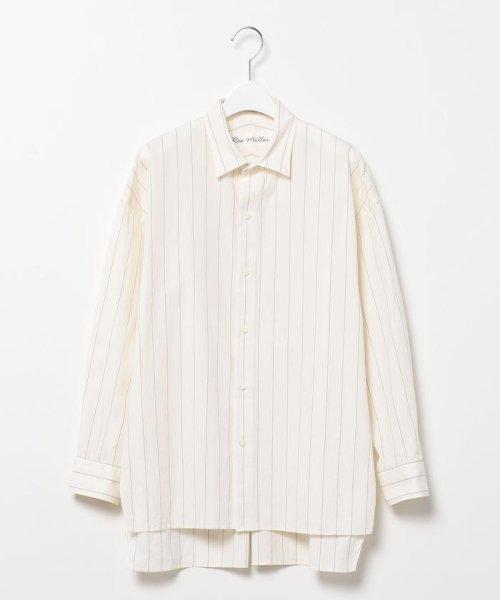 Rie Miller(リエミラー)/レギュラーBigシャツ/0-0037-1-01-001