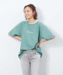 Rouge vif la cle/【Champion/チャンピオン】リバースウィーブロゴ刺繍Tシャツ/502928755