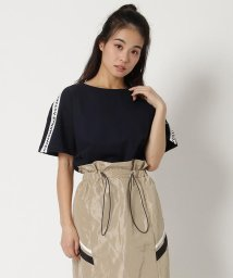 SAMANTHAVEGA/ライン入りTシャツ/502929352