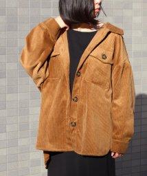 Fizz/【195568】【2019新作】コーデュロイビッグCPOシャツジャケット fi AW/502929673