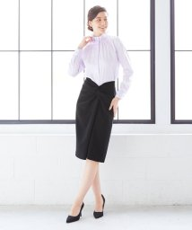 NARA CAMICIE/ねじりディテールタイトスカート/502929899