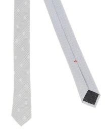 TAKA-Q/シルク混リング付ツインナロータイ5.0cm幅/502930090