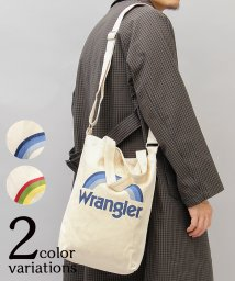 AMS SELECT/【Wrangler/ラングラー】2WAY縦型キャンバスショルダートートバッグ/502931367