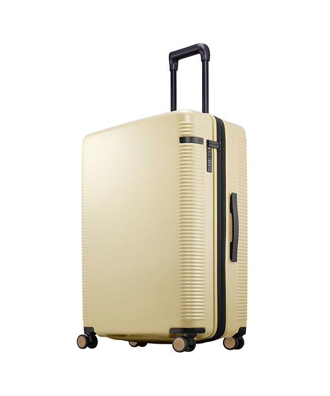 カバンのセレクション エース ウォッシュボードZ スーツケース ストッパー 軽量 大容量 拡張 91~103L Lサイズ ace. TOKYO 04068 ユニセックス イエロー フリー 【Bag & Luggage SELECTION】
