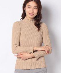 LAPINE BLANCHE/リブ編み ハイネックセーター/502927215