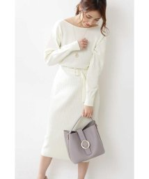 PROPORTION BODY DRESSING/◆バックカシュクールニットセットアップ/502929723